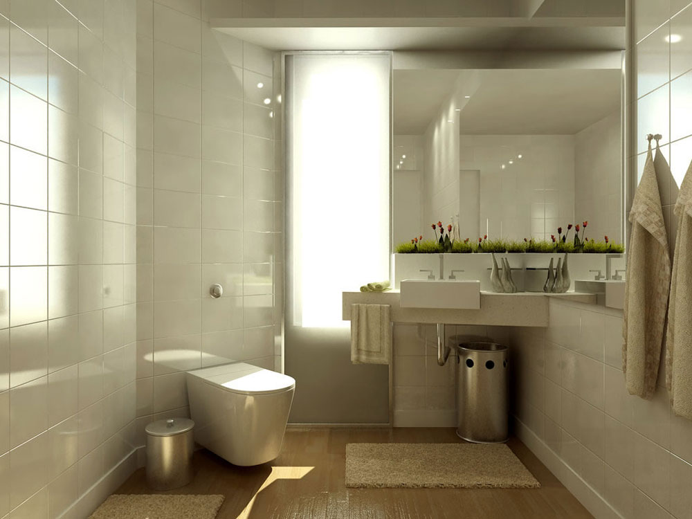 Designing a Small Bathroom Ideas and Tips 3 Designing a Small Bathroom Ideas and Tips