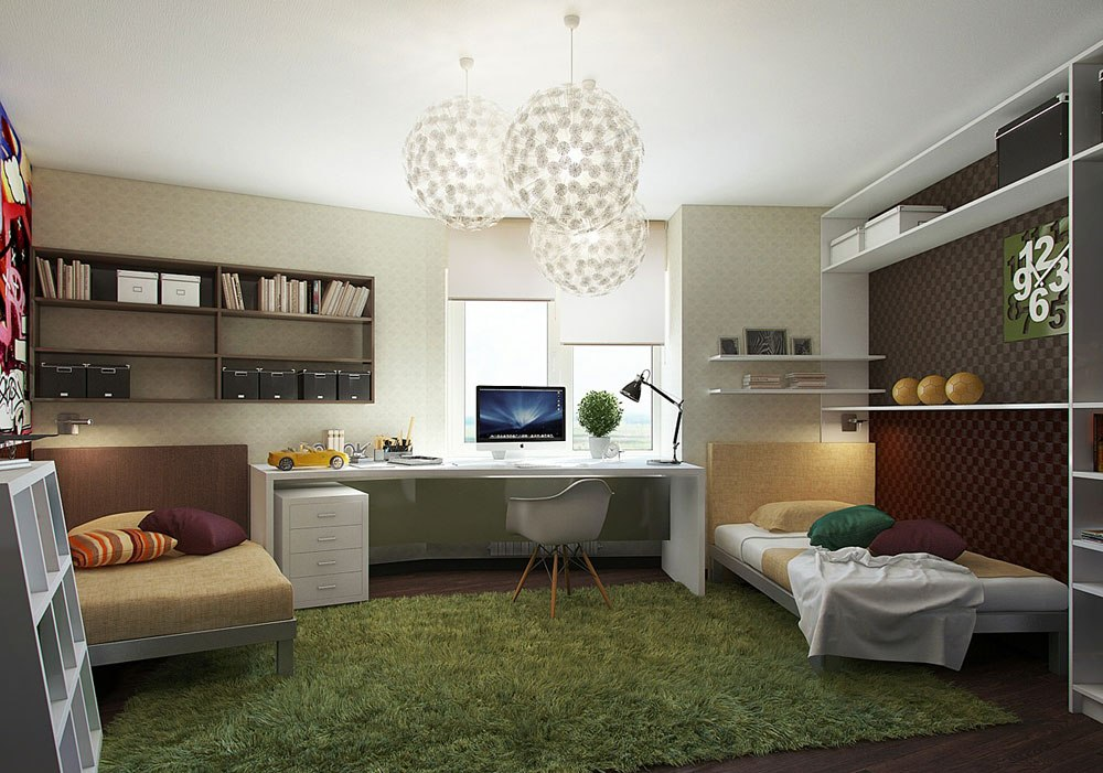 Study-room-design-ideas-for-children-and-teenagers-10 study-room-design-ideas for children and teenagers