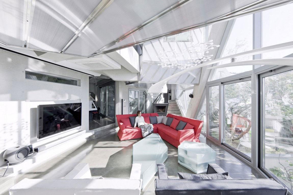 The modern Hwa-Hun-Haus, designed by IROJE-KHM-Architekten-10 The modern Hwa-Hunnen-Haus, designed by IROJE KHM Architekten