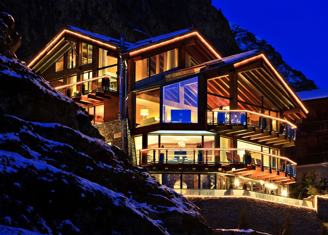 Nice Swiss Chalet-Designed-by-Paul-Bowyer-1 Nice Swiss Chalet-Designed by Paul Bowyer