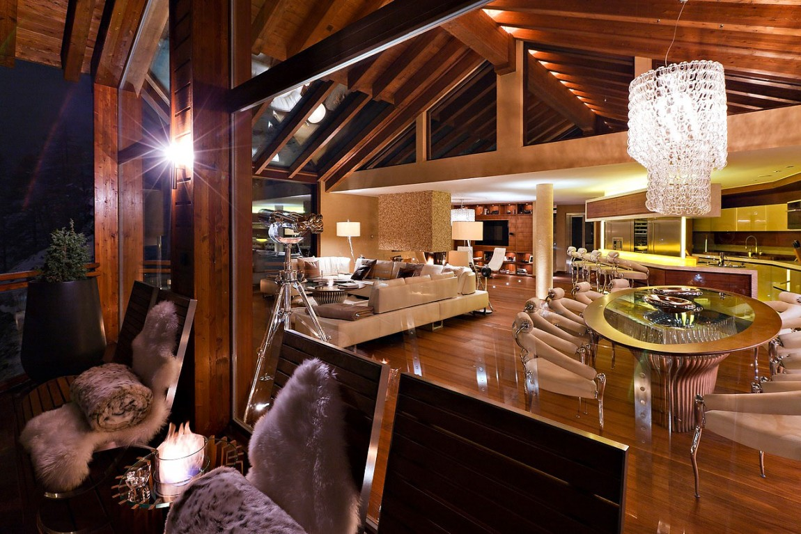 Lovely-Swiss-Chalet-Designed-by-Paul-Bowyer-9 Nice Swiss Chalet Designed by Paul Bowyer