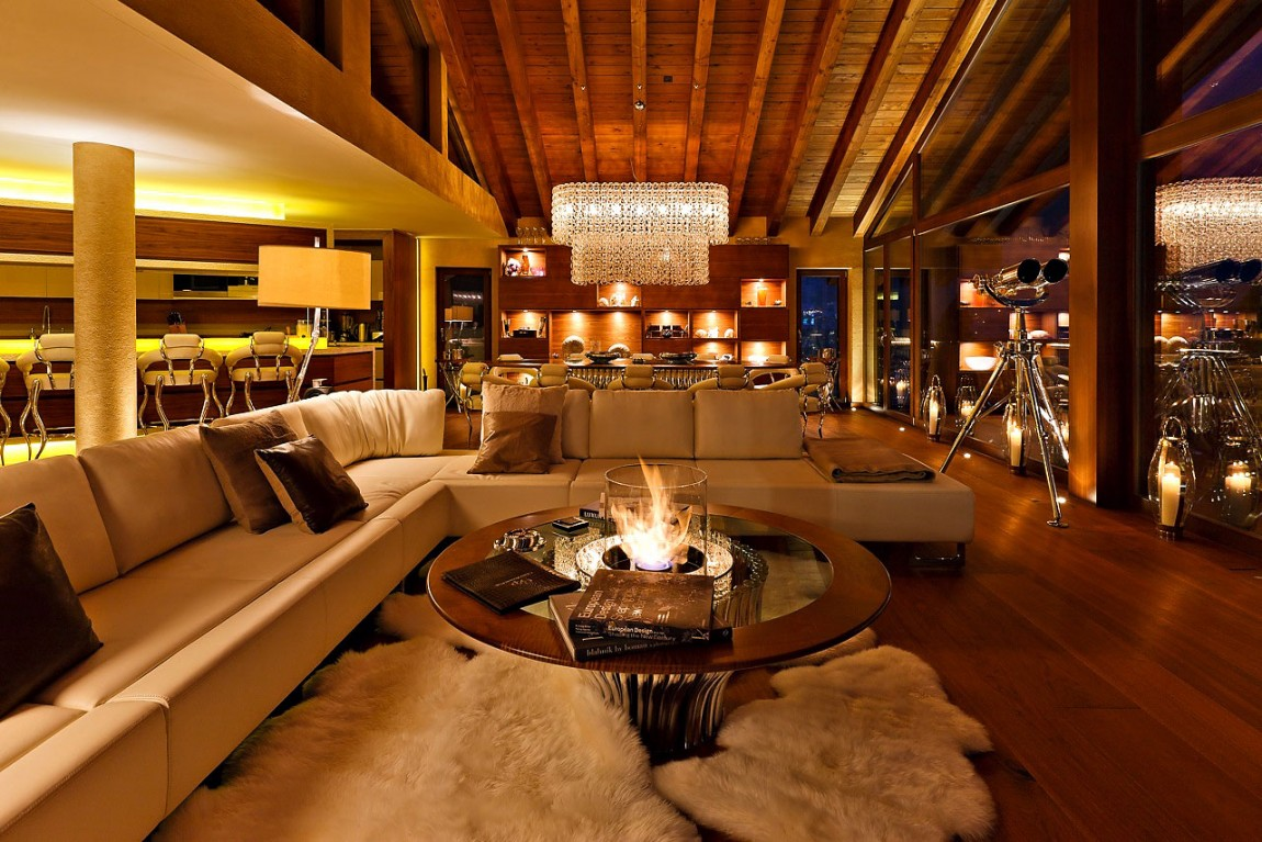 Lovely-Swiss-Chalet-Designed-by-Paul-Bowyer-8 Nice Swiss Chalet Designed by Paul Bowyer