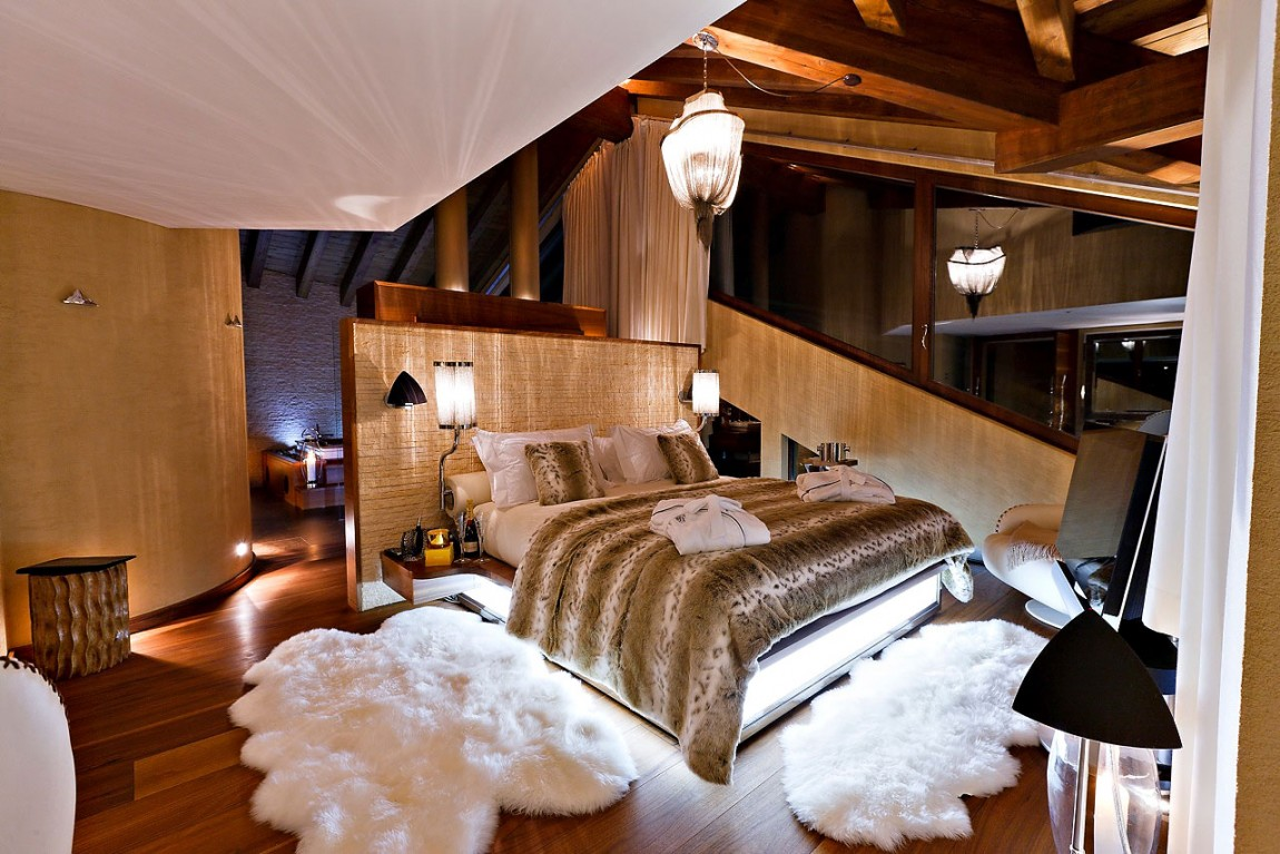 Beautiful Swiss Chalet-Designed-by-Paul-Bowyer-12 Beautiful Swiss Chalet-Designed by Paul Bowyer
