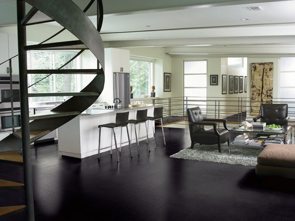 Ideas, options and solutions for sustainable linoleum floor coverings