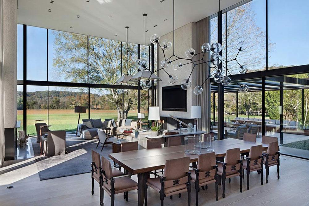 Modern Farmhouse-Designed-by-Meyer-Davis-Studio-2 Modern Farmhouse Designed by Meyer Davis Studio