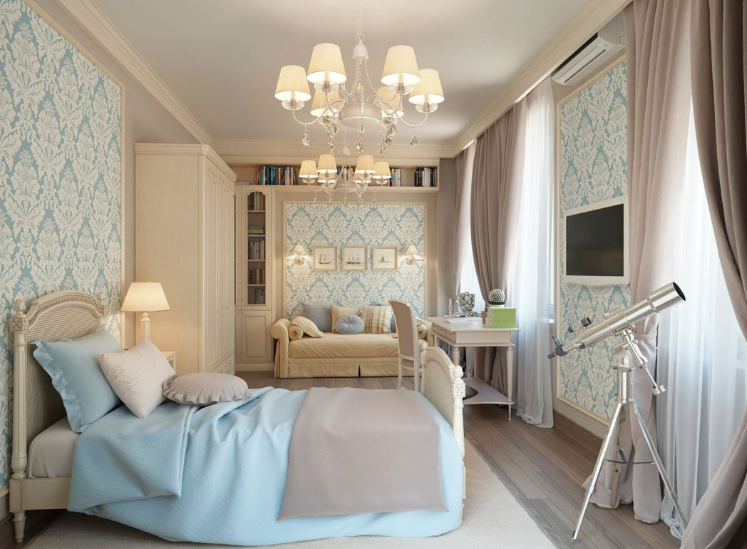 Experiments-in-color-patterns-and-texture Beautiful rooms wallpaper ideas for your home