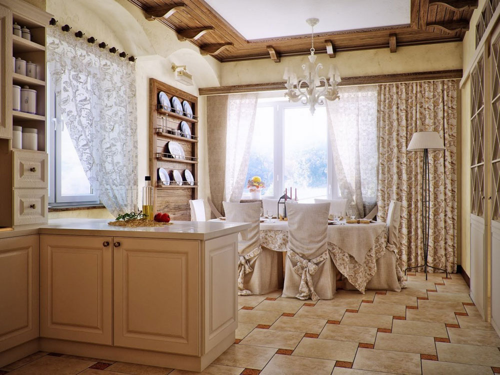 The-Dining-Room The beauty of English country-style home decor