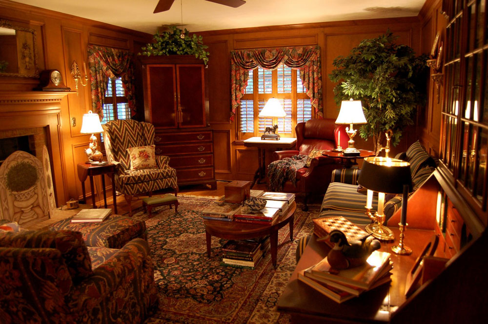 Living Spaces The beauty of English country style home decor