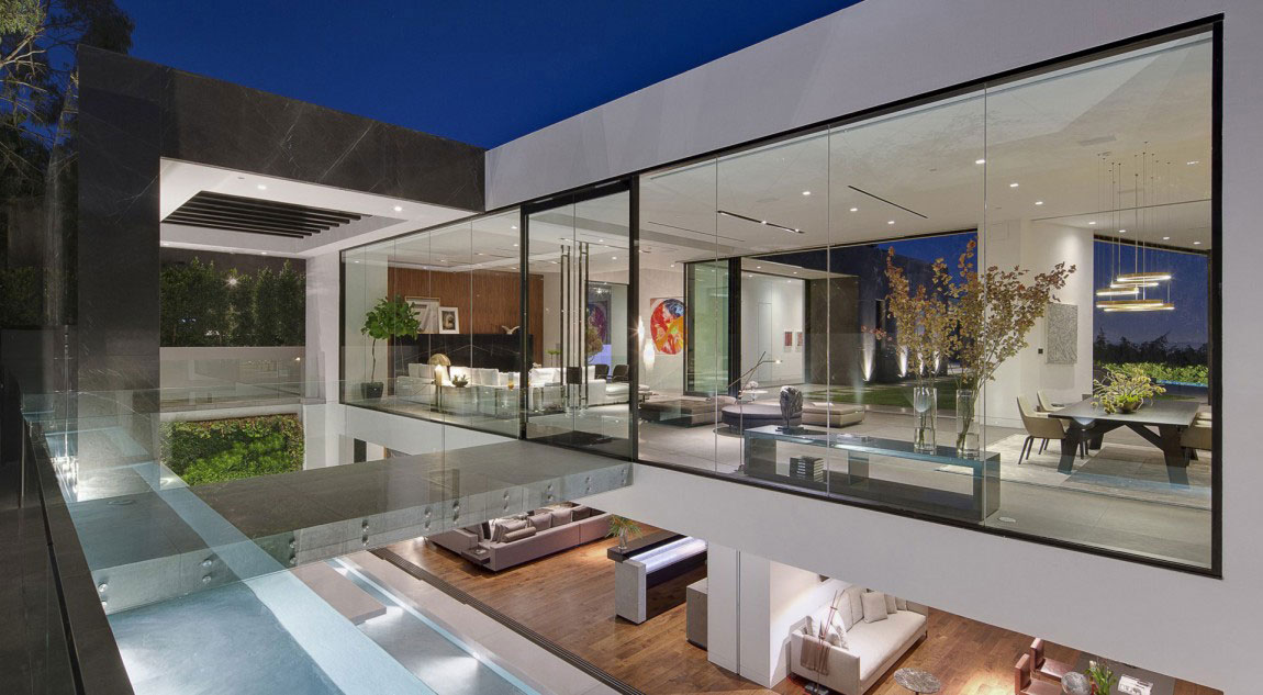 T-1 house 1 houses with beautiful architecture and interior design by McClean Design