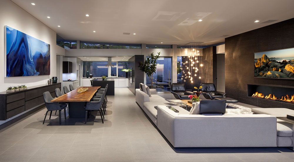 Ellis Residence 2 houses with beautiful architecture and interior design by McClean Design