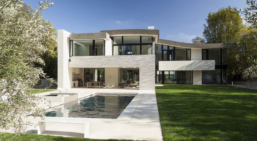 San Vincente House 2 Homes with beautiful architecture and interior design by McClean Design