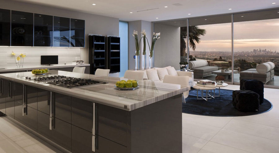 Oriole Way 1 houses with beautiful architecture and interior design by McClean Design