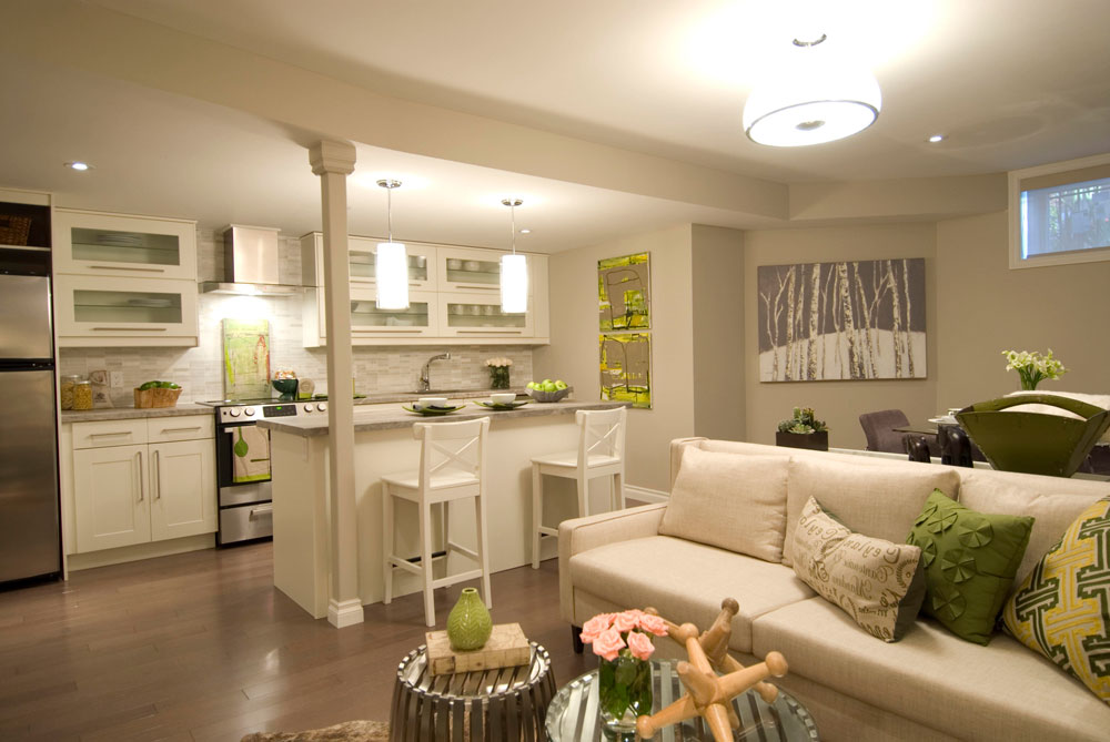 Use the Same Colors in Your Open Space Creating an Open Kitchen Design - Tips for Executing it Properly