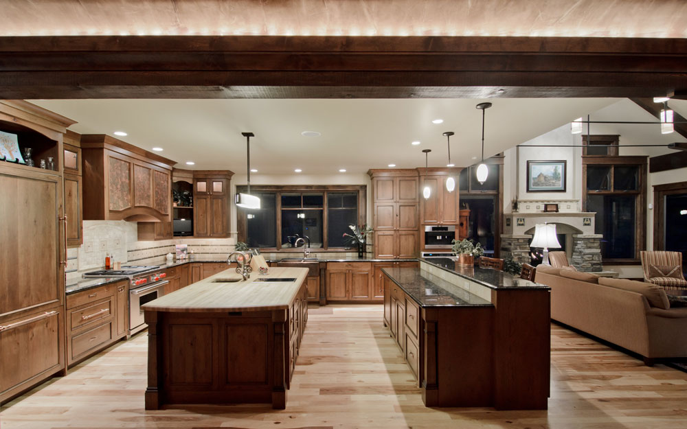 Create the Image of a Larger Interior Room Creating an Open Kitchen Design - Tips for Executing it Properly