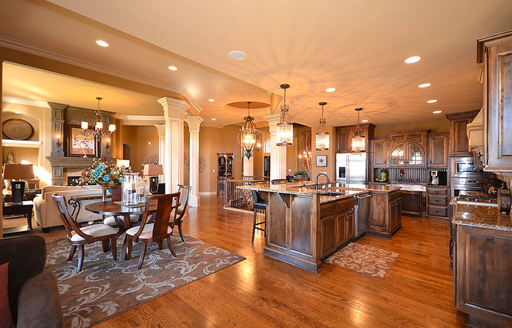 Be Careful With Kitchen Furniture Creating An Open Kitchen Design - Tips For Getting It Right