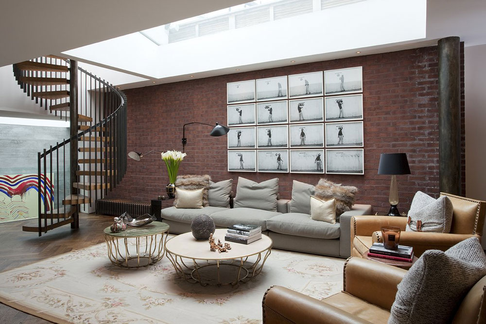 Living rooms with skylights that provide natural light 11 living rooms with skylights that provide natural light