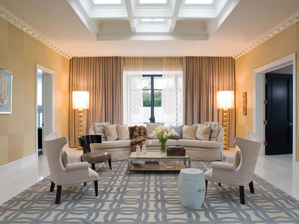 Living room-with-skylights-with-natural-light-4 living rooms with skylights with natural light