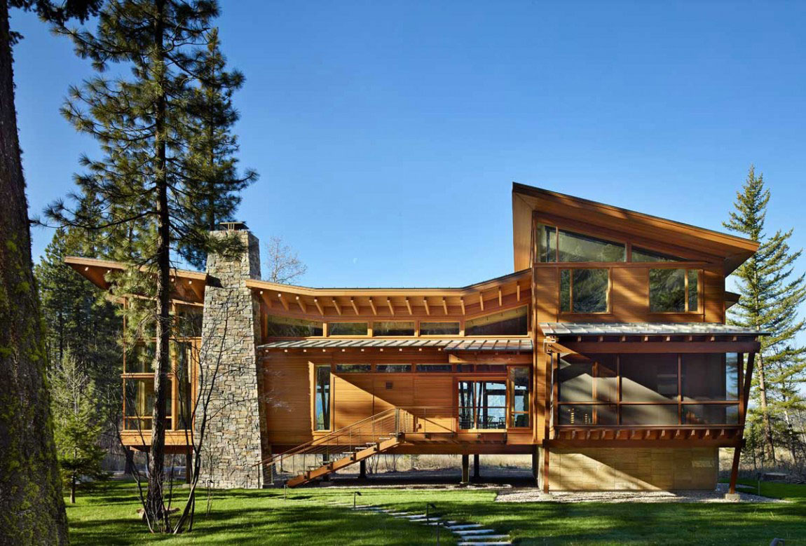The Mazama-House-A-Home-of-Unique-Design-2 The Mazama-House - A home of unique design