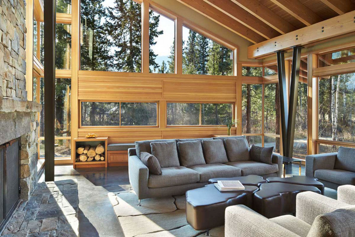 The Mazama-House-A-home-of-a-unique-design-4 The Mazama-House - A home of a unique design