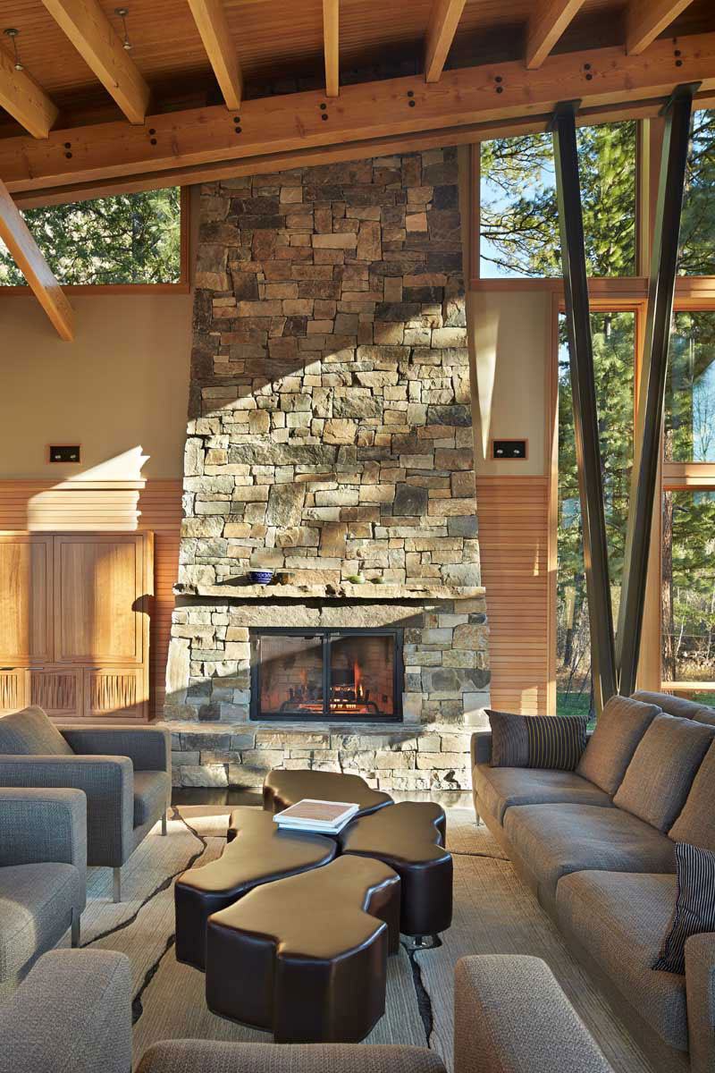 The Mazama-House-A-home-of-a-unique-design-6 The Mazama-House - A home of a unique design