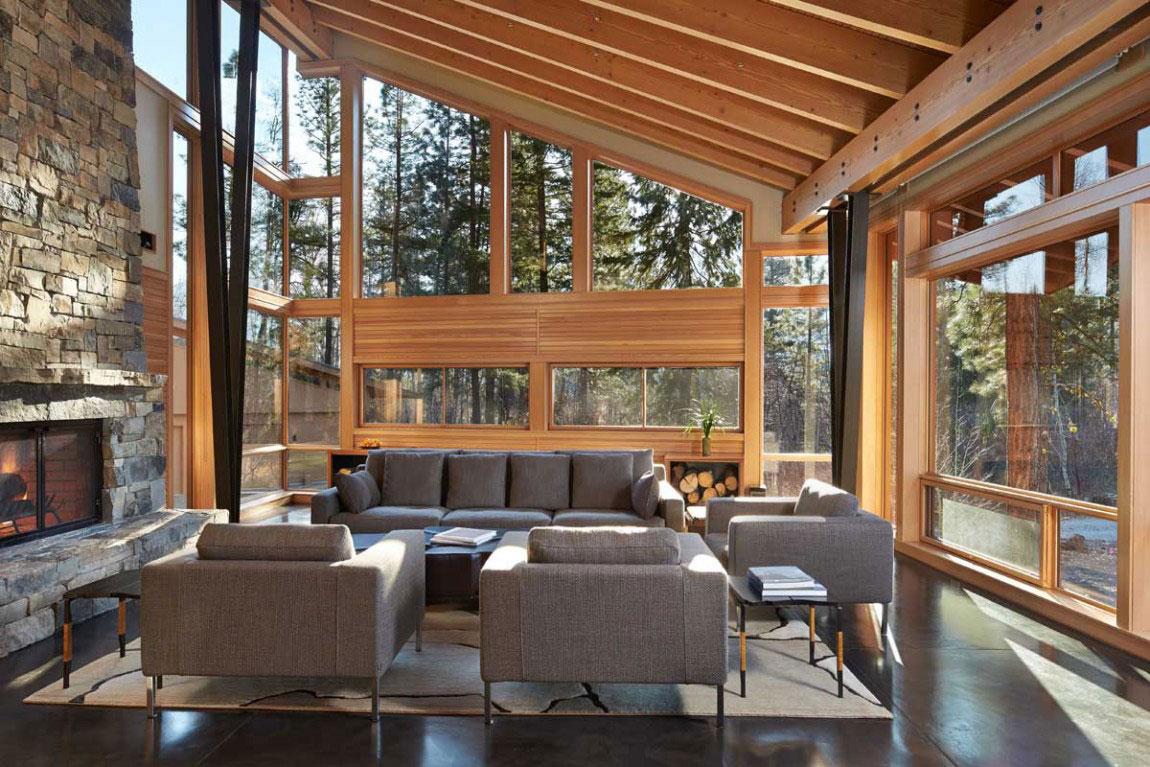 The Mazama-House-A-home-of-a-unique-design-5 The Mazama-House - A home of a unique design
