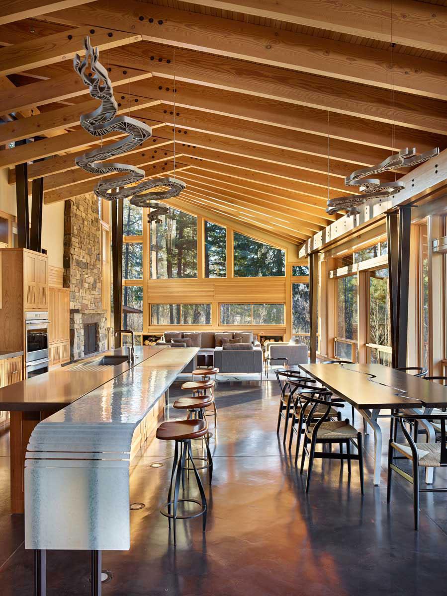 The Mazama-House-A-home-of-a-unique-design-11 The Mazama-House - A home of a unique design