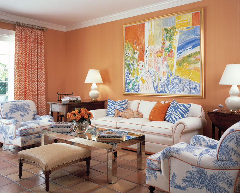 tetradic How to choose a color scheme for the rooms in your house