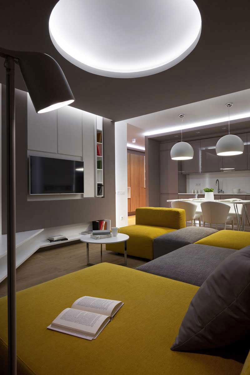 The futuristic apartment that Denis-Rakaev-created-moon-box-5 The futuristic apartment that Denis Rakaev created - moon-box