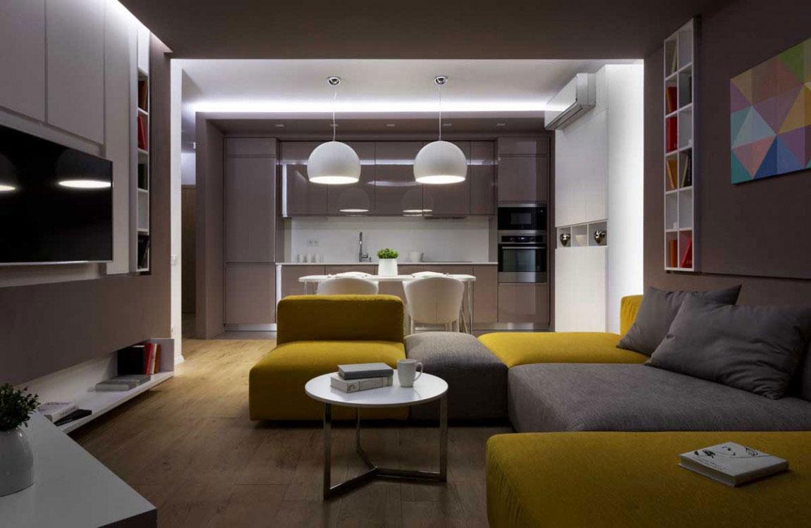 The futuristic apartment that Denis-Rakaev-created-moon-box-6 The futuristic apartment that Denis Rakaev created - moon-box