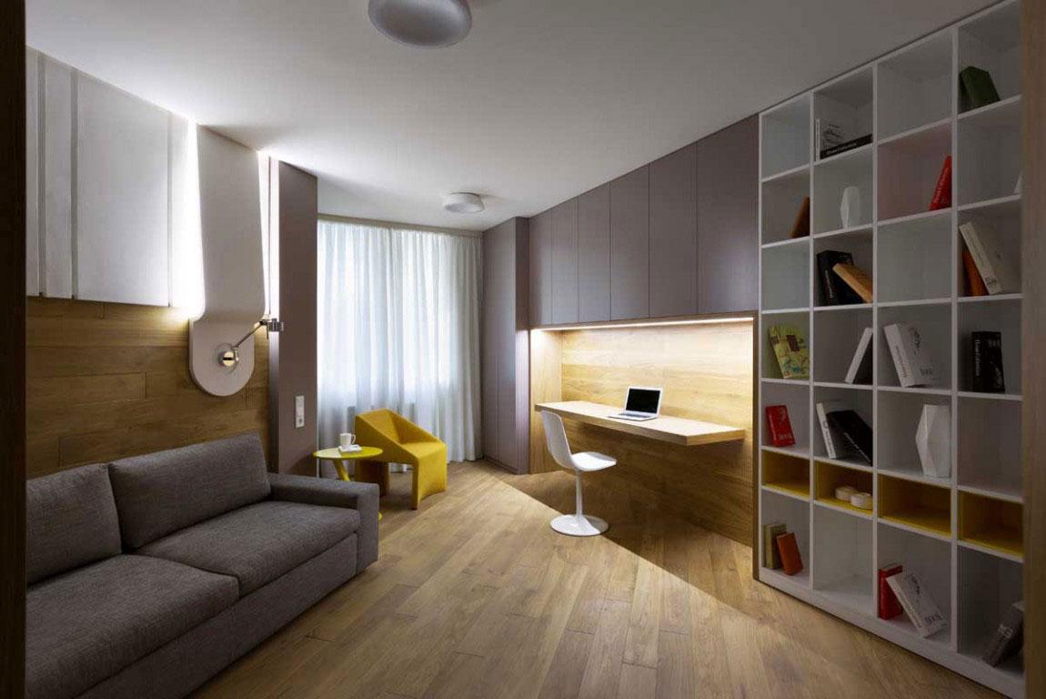 The futuristic apartment that Denis-Rakaev-created-moon-box-10 The futuristic apartment that Denis Rakaev created - moon-box