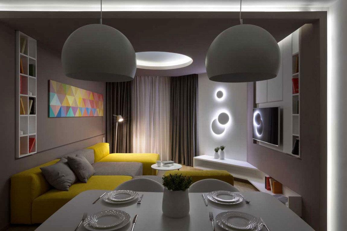 The futuristic apartment that Denis-Rakaev-created-moon-box-15 The futuristic apartment that Denis Rakaev created - moon-box