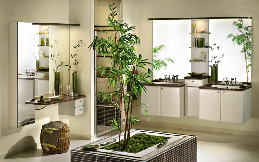 Decorating-your-bathroom-with-beautiful-plants-10 Decorate your bathroom with beautiful-plants