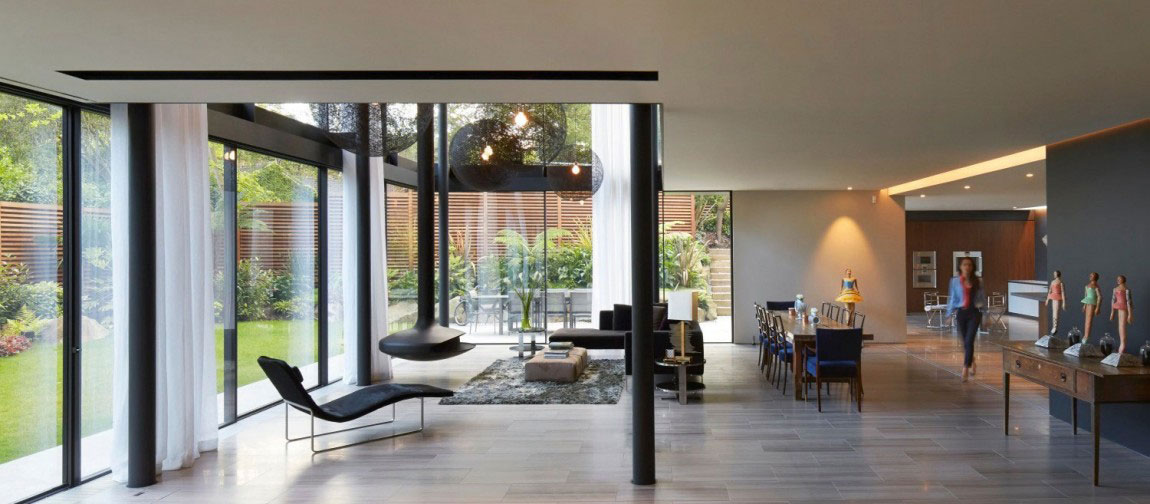 English House with Modernist Architecture 2 English House with Modernist Architecture Designed by Stanton Williams