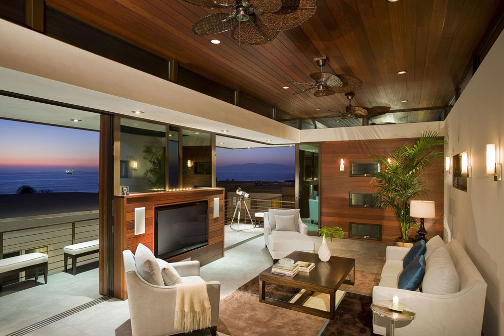 Wonderful living rooms with sea views 9 Wonderful living rooms with sea views