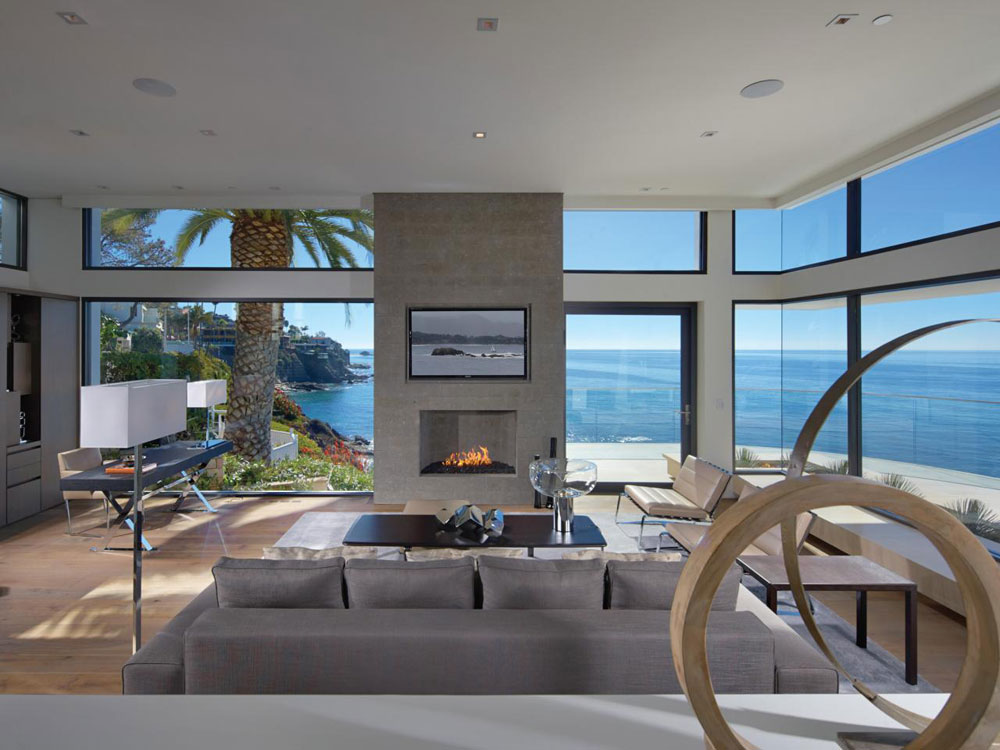 Wonderful living rooms with sea views 11 Wonderful living rooms with sea views