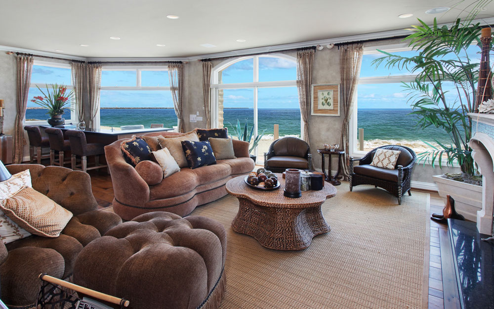 Wonderful living rooms with sea views 14 Wonderful living rooms with sea views