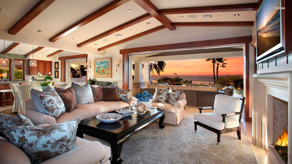 Wonderful living rooms with sea views 10 Wonderful living rooms with sea views