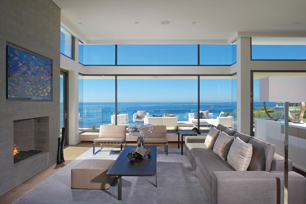 Wonderful living rooms with sea views 12 Wonderful living rooms with sea views