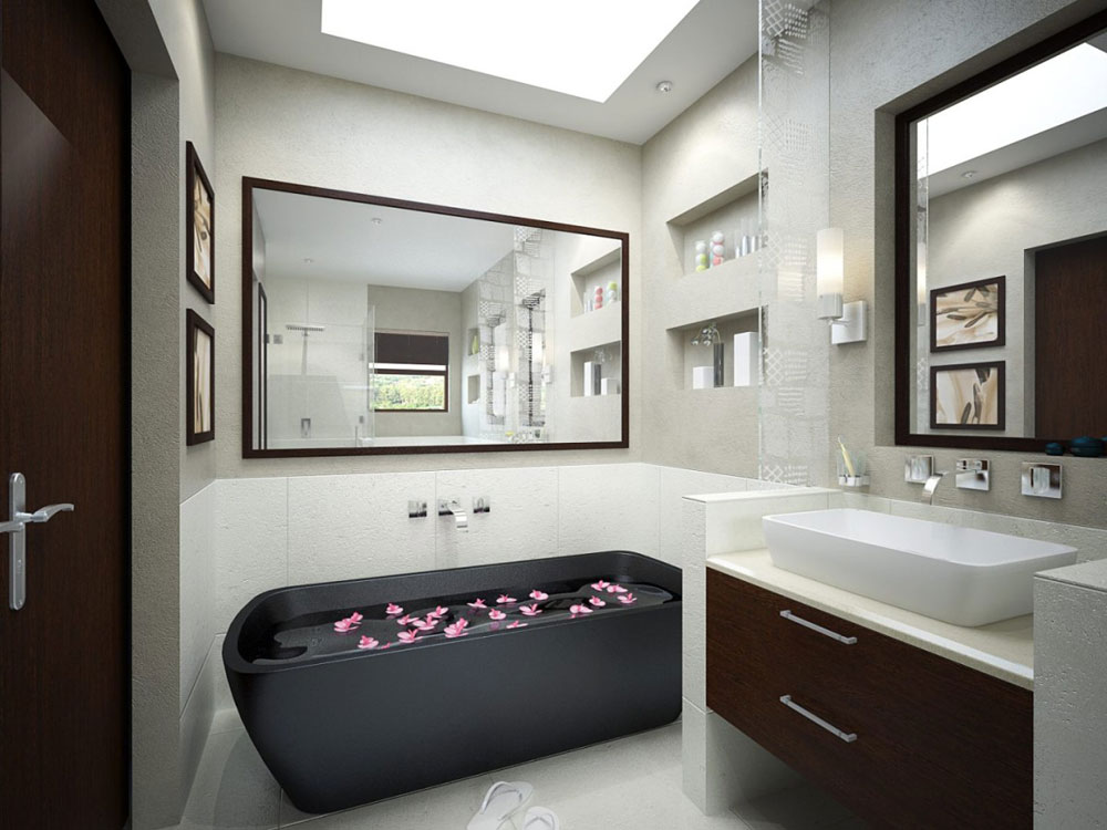 Bathrooms With Skylights That Make You Rethink How You Are Designing 10 Bathrooms With Skylights That Will Make You Reconsider Your Design