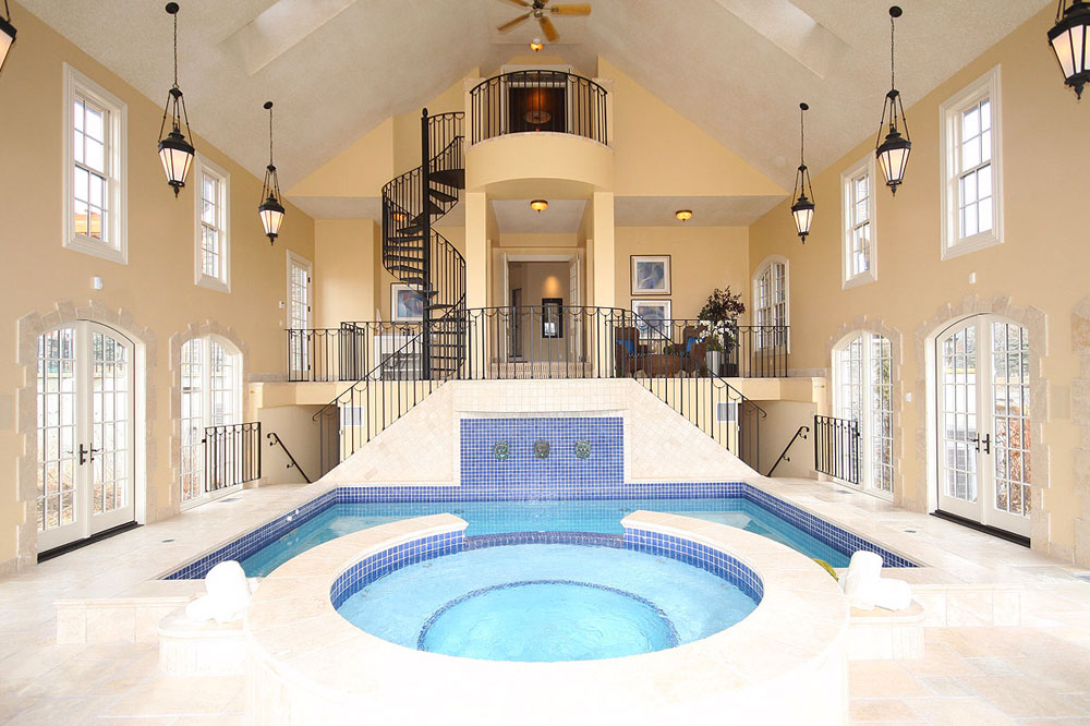A Collection Of The Popular And Eclectic Indoor Pools We Love 6 A Collection Of The Popular And Eclectic Indoor Pools We Love