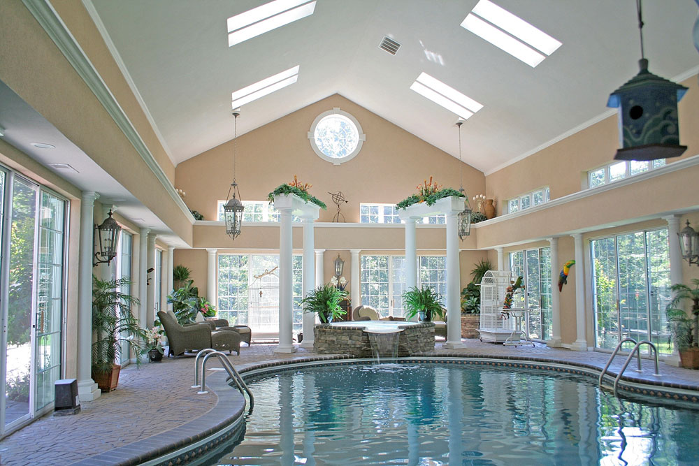 A collection of the popular and versatile indoor pools we love 8 A collection of the popular and versatile indoor pools we love