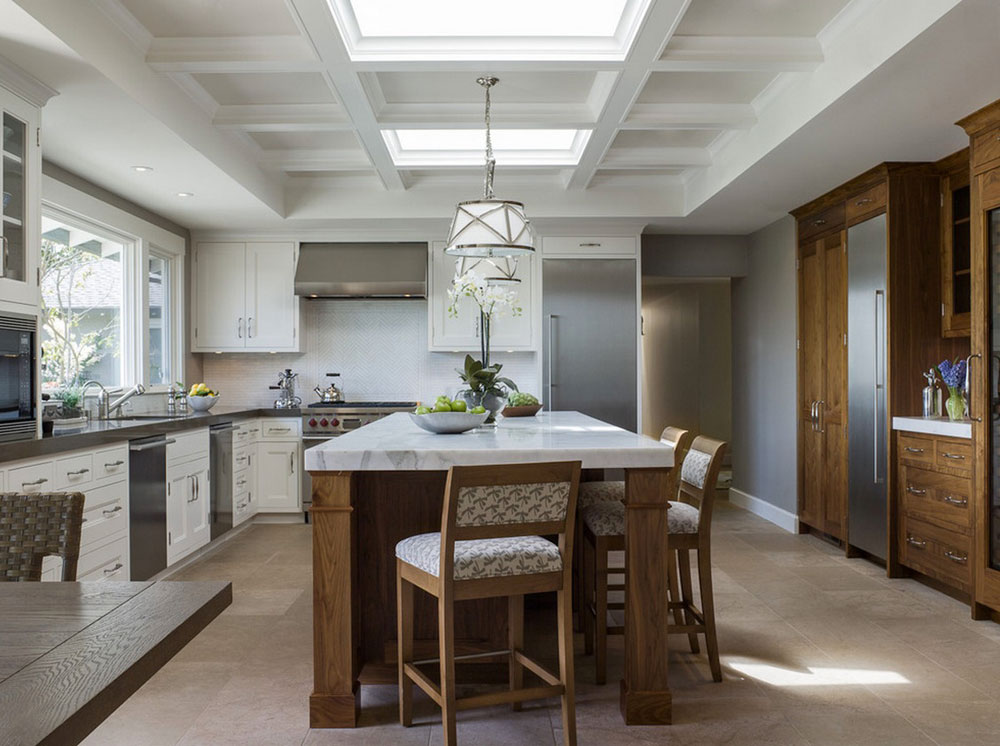 Kitchens with skylights for more natural light 12 kitchens with skylights for more natural light
