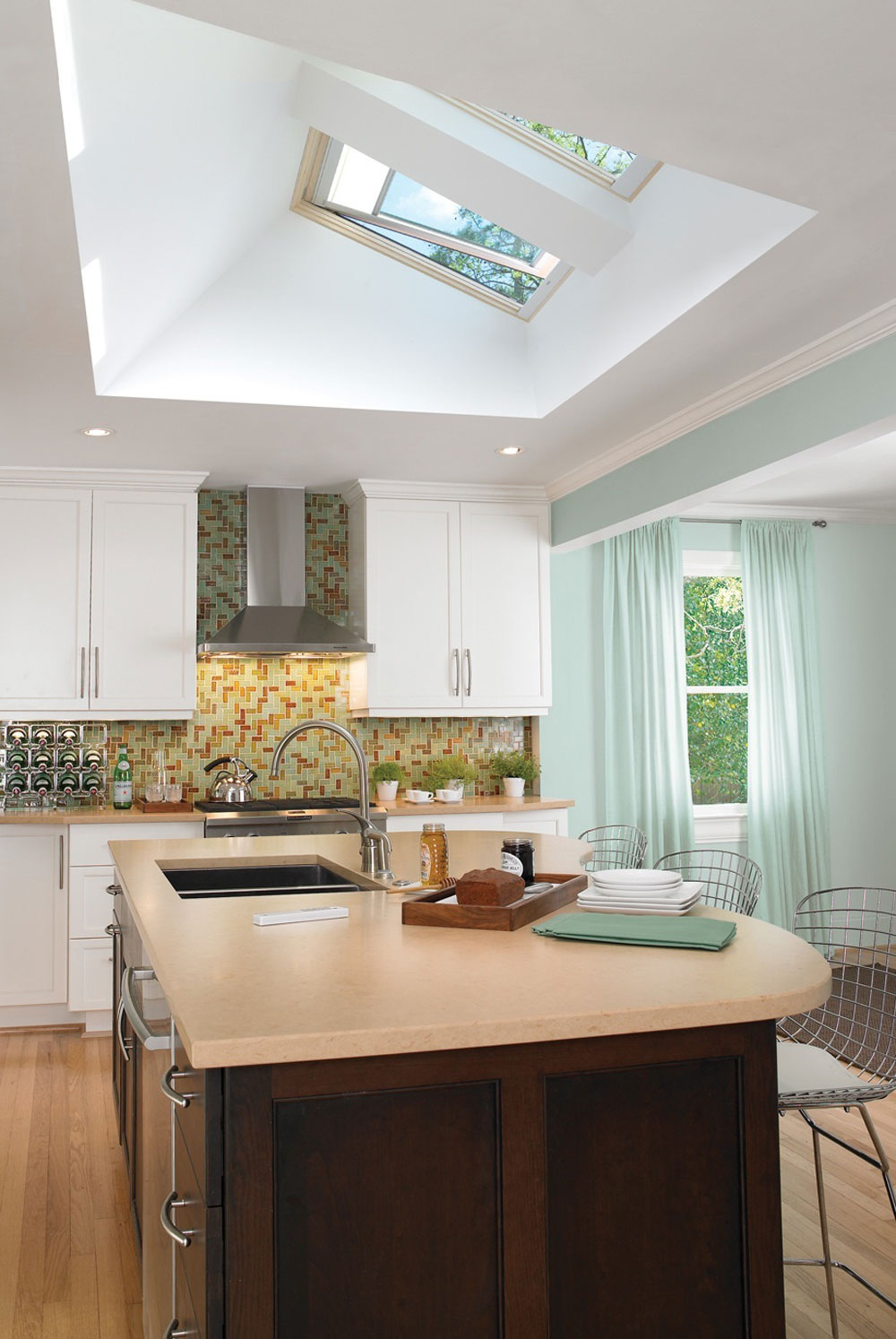 Kitchens with skylights for more natural light 11 kitchens with skylights for more natural light