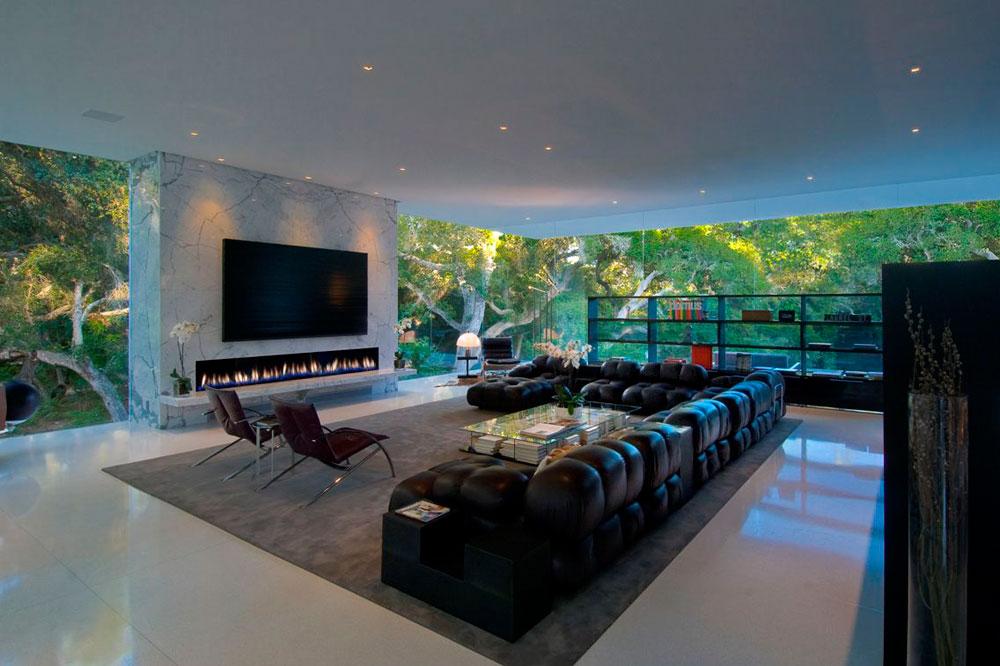 Show-window-of-the-living-room-interior-design-with-fireplace-7 Show-window of the living room-interior-design with a fireplace