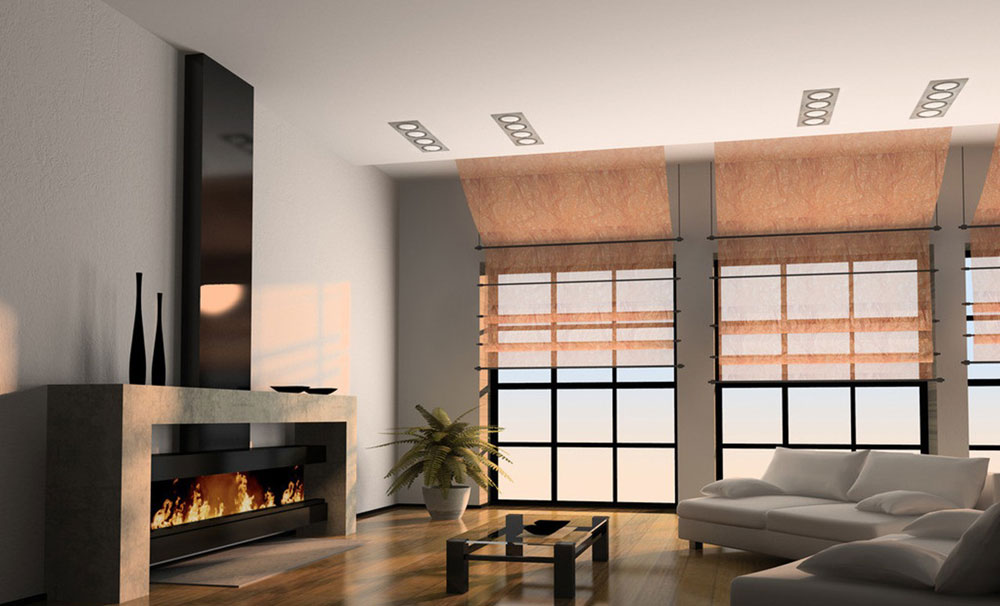 Show-window-of-the-living room-interior-design-with-fireplace-8 Show-window of the living room-interior design with a fireplace