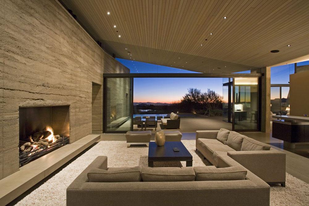 Show-window-of-the-living room-interior-design-with-fireplace-10 Show-window of the living room-interior design with a fireplace