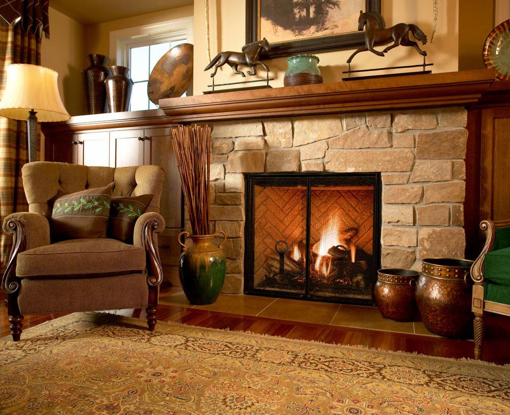 Show-window-of-the-living room-interior-design-with-fireplace-2 Show-window of the living room-interior design with a fireplace
