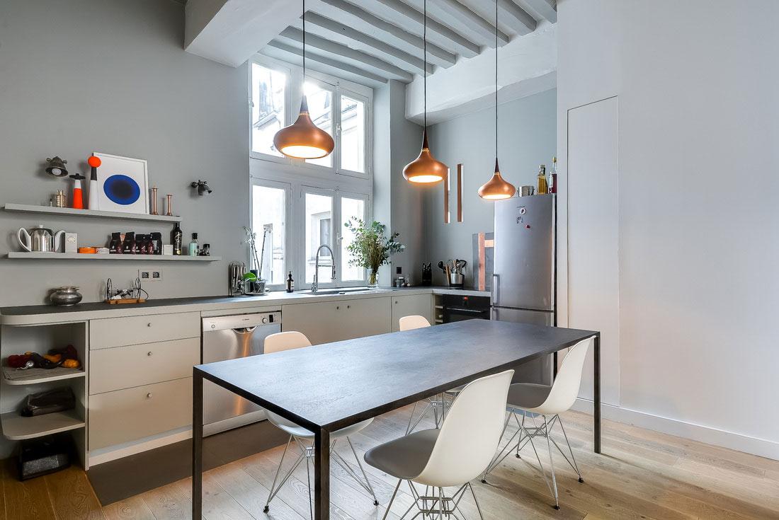Modern apartment in Paris designed by the French interior designer Tatiana-Nicol-7 Modern apartment in Paris designed by the French interior designer Tatiana Nicol