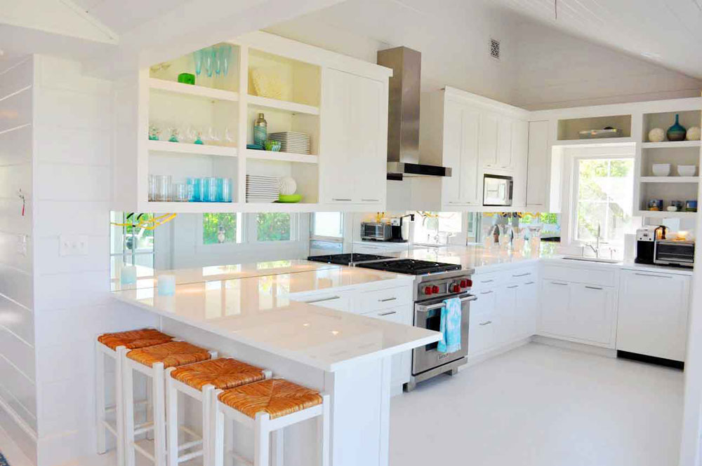 Lovely-Kitchen-Interiors-With-White-Cabinets-12 Beautiful kitchen interiors with white cabinets