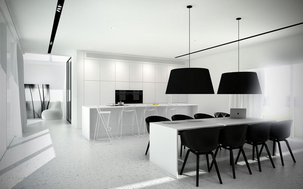 Lovely-Kitchen-Interiors-With-White-Cabinets-3 Beautiful kitchen interiors with white cabinets